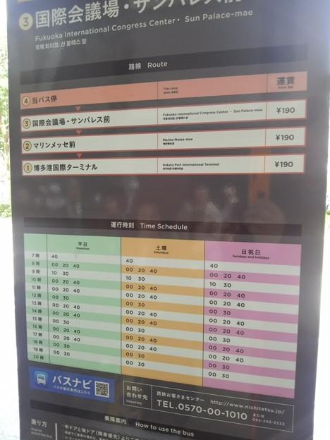【13305号】バス停 平成300324 #NPS5
