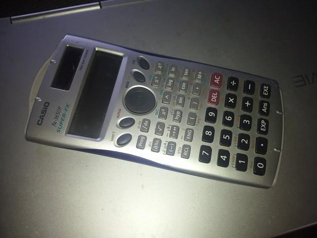 【13865号】関数電卓 平成300815 #NPS1