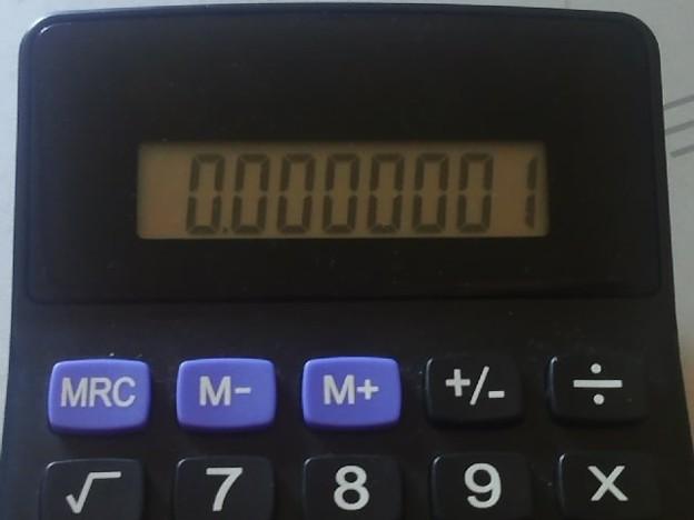 【13936号】電卓 平成300925 -2