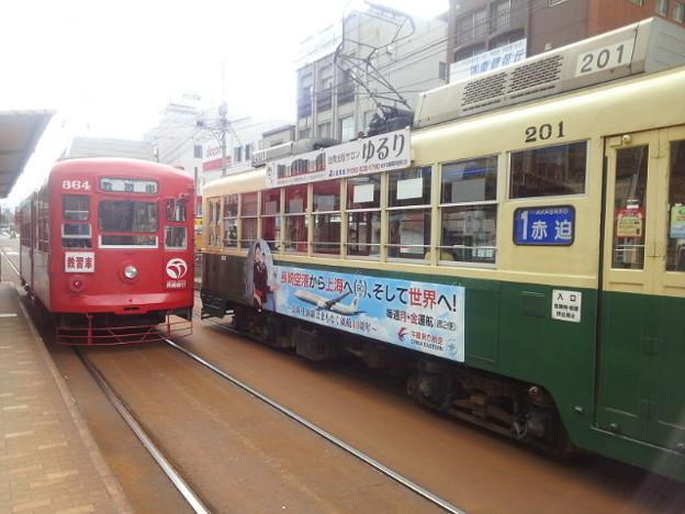 【14015号】路面電車 平成301019 #NTS2
