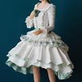 写真: 紙粘土人形マーガレット右から