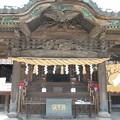 写真: 箭弓神社社殿