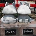 写真: 箭弓神社キャラクター