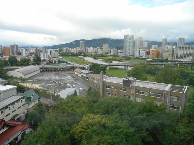 ホテルから札幌,すすきの方面