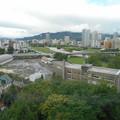 写真: ホテルから札幌,すすきの方面