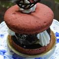マカロンベースケーキ
