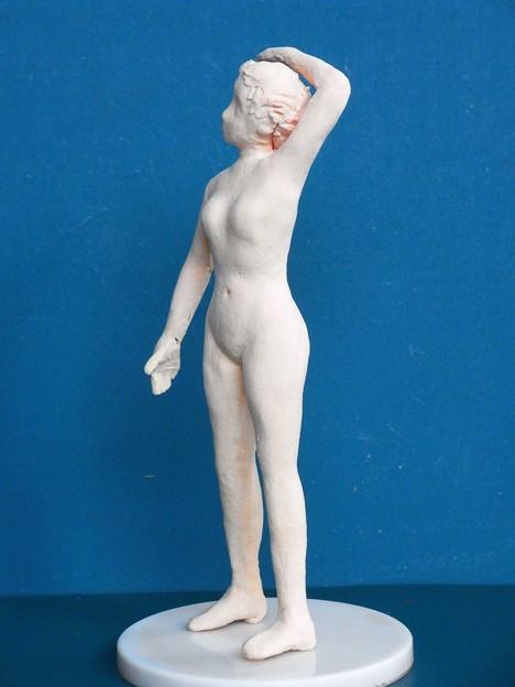 紙粘土裸婦5