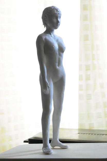 Photos: 白人形立像