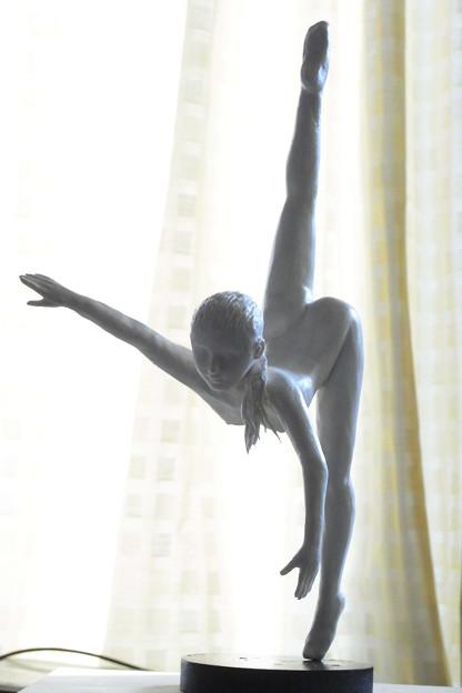 紙粘土人形 裸婦フィギュアポーズ