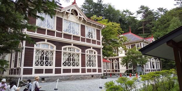 軽井沢旧三笠ホテル