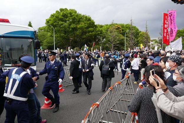 国会前大集合 国会正門前開放  20180414 (9)