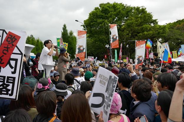 国会前大集合 国会正門前開放  20180414 (13)