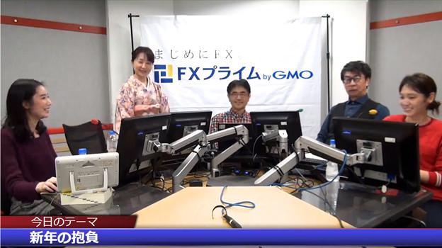 2019-01-04 夜トレ! 叶内文子 のーでぃ 有希奈 福永博之 小杉篤諭(FXプライム)