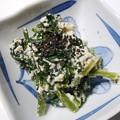 冬に高騰した葉物野菜が安くなってきた。98円で買ったほうれん草で白和えを作ったよ。