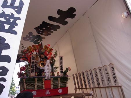 35 博多祇園山笠 土居流 舁き山 肥後国熊本藩主 加藤清正(清正公武勲(せいしょうこうのぶくん)) 2012年 写真画像7