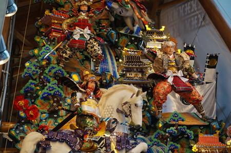 11 2014年 博多祇園山笠 博多駅の飾り山笠 軍師黒田官兵衛 (10)
