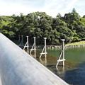 五十鈴川に架かる橋