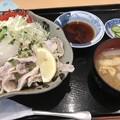 皿に・・・(爆