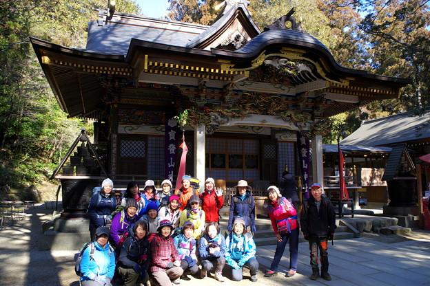 宝登山神社は火止めの神様です #アルパインツアー日本の山 #山へ行こうよ。 #初級者講習会