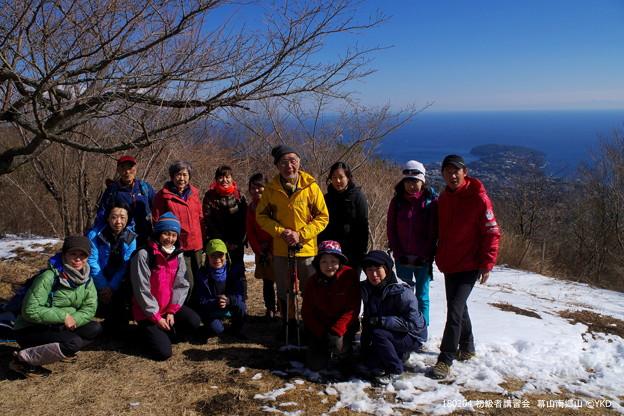 ▲幕山山頂から真鶴半島も見えました。 #初級者講習会 #山へ行こうよ。 #幕山 #アルパインツアー日本の山