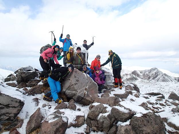 那須茶臼岳(STEP1) 那須茶臼岳 頂上1