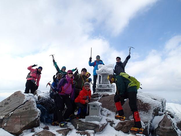 那須茶臼岳(STEP1) 那須茶臼岳 頂上2