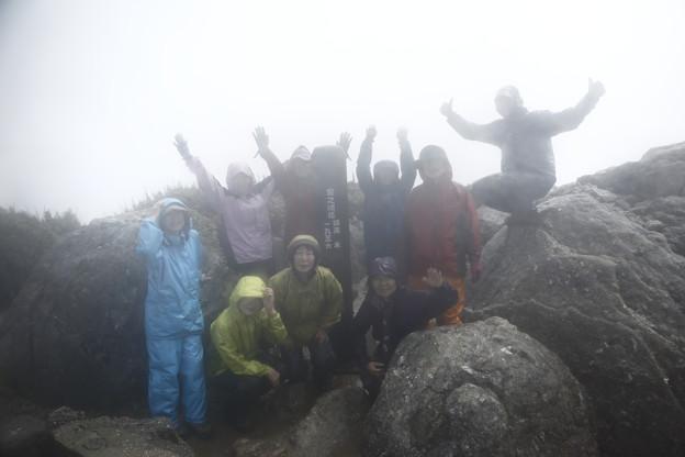 日本の山 ゆっくり登山 宮之浦岳 登頂です!