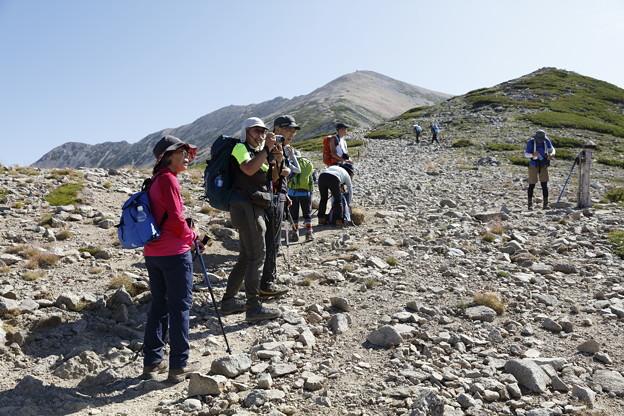 日本の山 山の天気講座 薬師岳 肩までもう少し