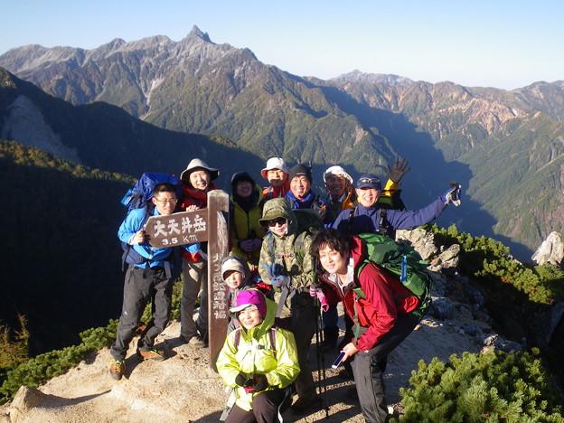 Photos: 燕岳から常念岳 全ての眺望が!