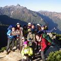 写真: 燕岳から常念岳 全ての眺望が!