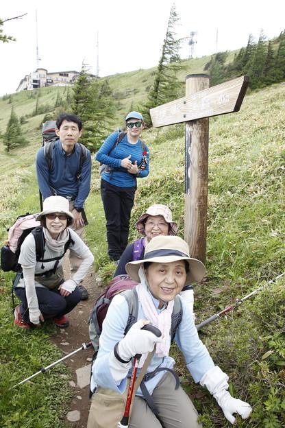 日本の山 美ヶ原ロングトレイル アルプス展望コース