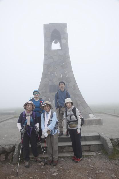 日本の山 美ヶ原ロングトレイル 美しの塔