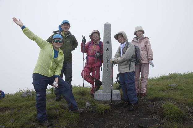 日本の山 美ヶ原ロングトレイル 三峰山です
