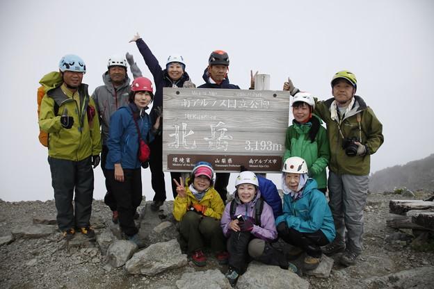 日本の山 間ノ岳、北岳3日間 北岳に登頂しました! #山へ行こうよ