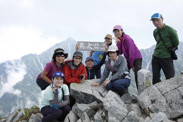 日本の山 立山スペシャル 大日三山縦走 奥大日岳山頂です! #山へ行こうよ。#立山スペシャル