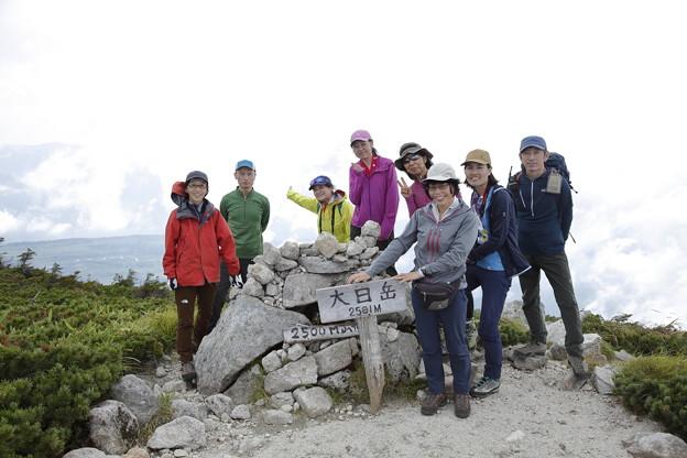 日本の山 立山スペシャル 大日三山縦走 大日岳も往復しました!