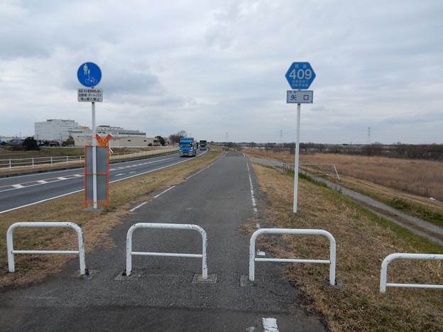 県道409 佐原我孫子自転車道線