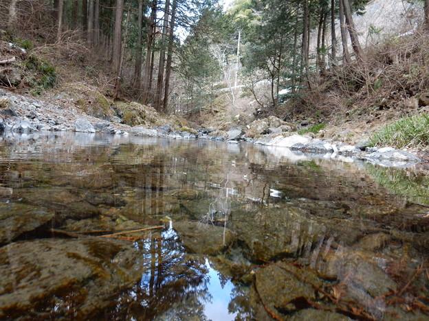写真: 成木川