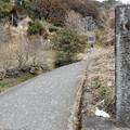 写真: 上成木神社入口