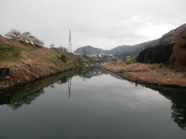 写真: 橋上から