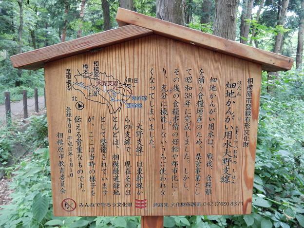 Photos: 畑地かんがい用水大野支線