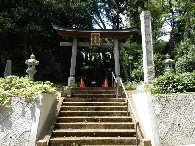 写真: 鳩峯八幡神社