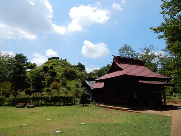 浅間神社と荒幡富士