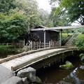 写真: 水車小屋