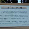 Photos: 白山古墳
