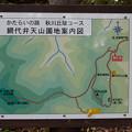 Photos: 綱代弁天山案内図