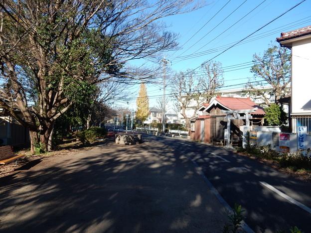 萩山神社前