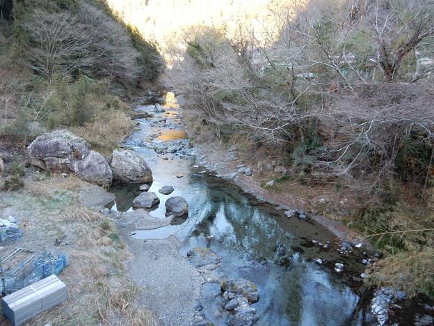 赤沢橋から入間川