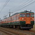 信越本線 普通列車 142M (115系4両)