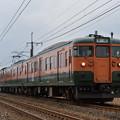 信越本線 普通列車 146M (115系4両)